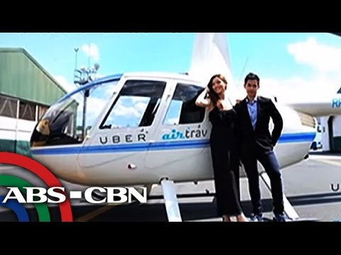 Bandila: App-based helicopter service now available in Manila