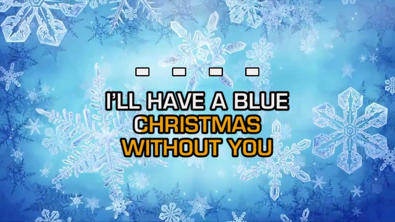 elvis presley blue christmas - I Ll Have A Blue Christmas Without You