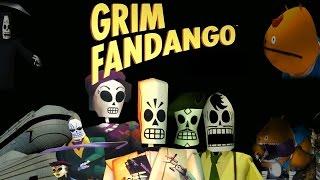 Grim Fandango the Movie Remastered || All Cutscenes