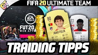 FIFA 20 Web App - 3 TRADING TIPPS zum Start (heute Abend)