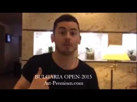Ильшат Шабаев приглашает всех на Bulgaria Open-2015