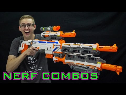 NERF COMBOS | REGULATOR