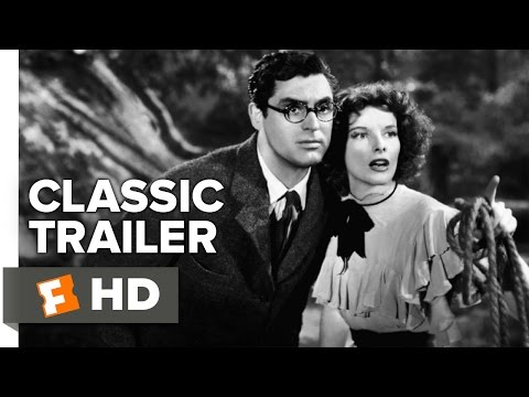 Bringing Up Baby (1938) Official Trailer - Katharine Hepburn, Cary Grant Movie HD