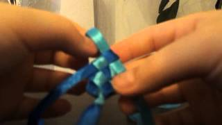 Видеоурок #2 Как плести фенечку из лент(Это видео создано с помощью видеоредактора YouTube (http://www.youtube.com/editor), 2013-11-23T19:35:12.000Z)