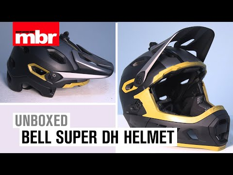 Bell Super DH Helmet Unboxed | Mountain Bike Rider