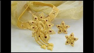 Saudi Gold Heavy Jewellery Designs Collection