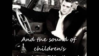 Michael Bublé - All I Want For Christmas Is You ( w/ lyrics on screen )