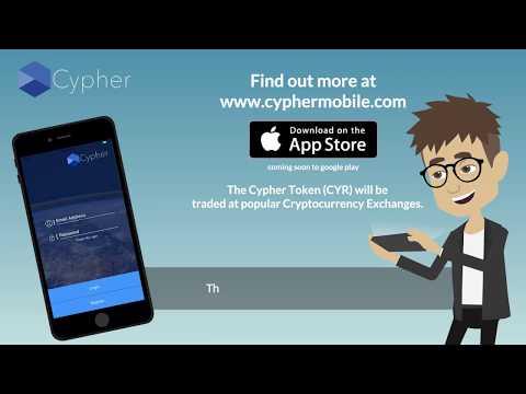 Cypher - Geo Location Platform on the Blockchain.