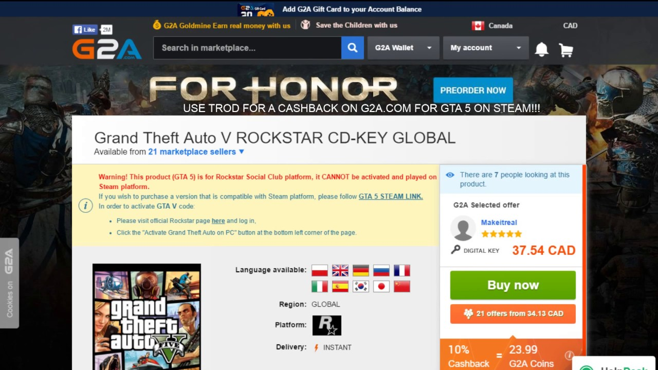 gta 5 discount from g2a youtube
