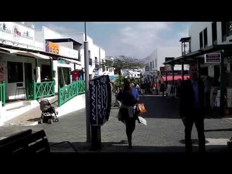 Town Centre And Shops, Playa Blanca, Lanzarote