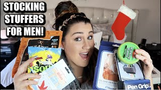 VLOGMAS DAY 12 🎄// WHATS IN MY HUSBANDS STOCKING // GIFTS AND STOCKING STUFFER IDEAS FOR MEN!
