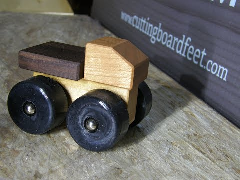 Making Toy Trucks - Awesome Wood Toys !!!