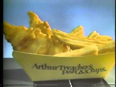 Arthur treacher 39 s fish chips commercial 1978 youtube for Arthur treachers fish and chips