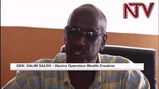 Gen. Saleh aganye okulabikako eri akakiiko ka Palamenti okunyonyola eby'okusima omusenyu thumbnail