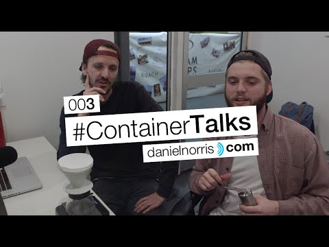 Coffee, Communications & My First Facebook Live | #ContainerTalks 003