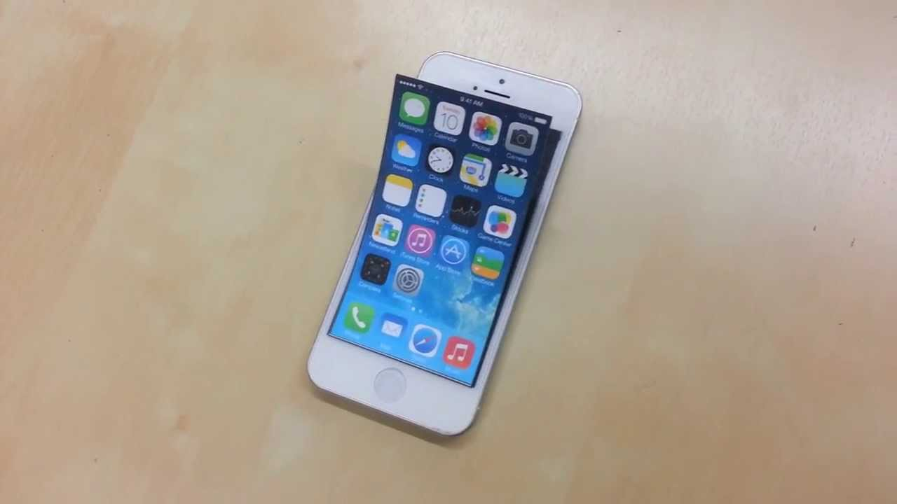 Flexible-Bendable Screen SmartPhone for Apple iPhone, 가변형 ...