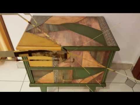 Muebles viejos restaurados youtube for Muebles antiguos restaurados antes y despues