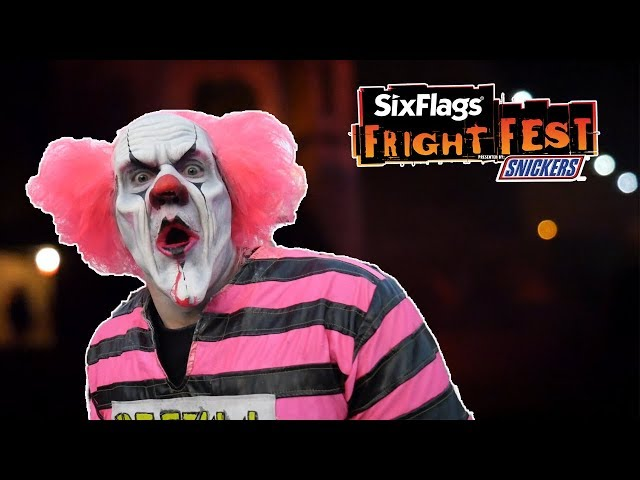 Six Flags Fright Fest 2019 Highlights - Scare Zones & Mazes!