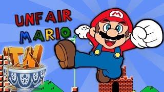 Unfair Mario : Unfair Mario IS UNFAIR!!!!