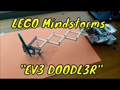 """""""The LEGO Mindstorms EV3 Doodler Robot!!"""""""