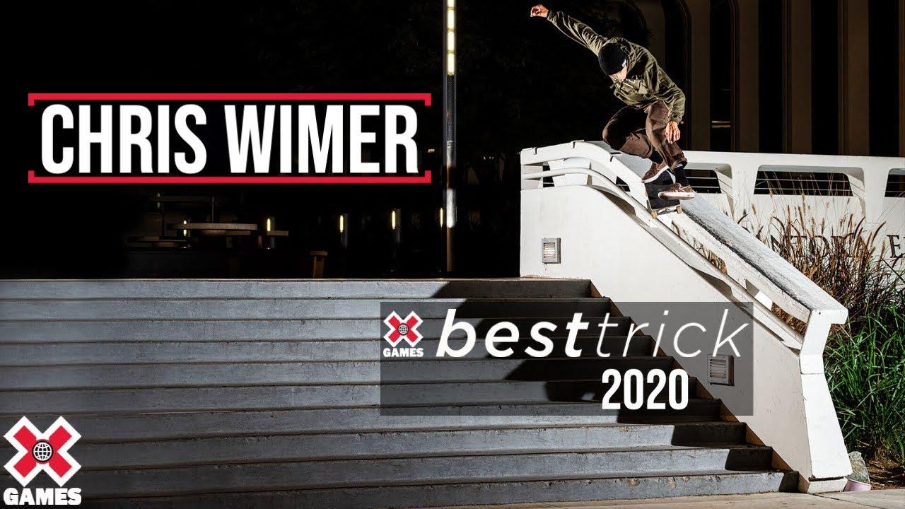 Chris Wimer: REAL STREET BEST TRICK 2020   World of X Games