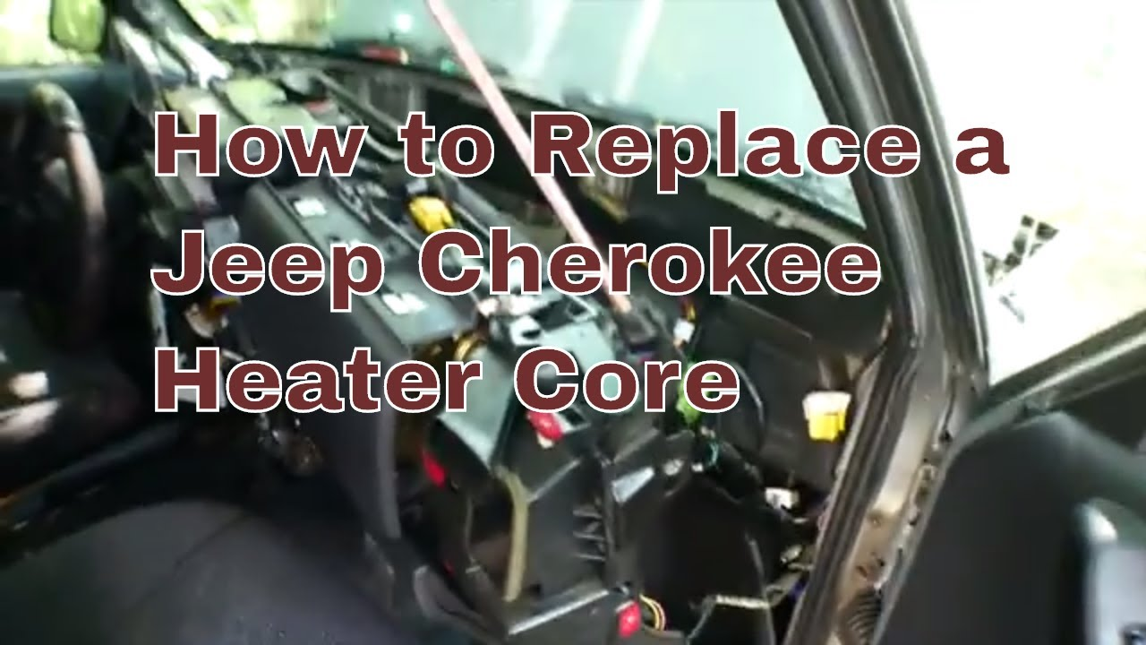 How To Replace A Jeep Cherokee Heater Core Youtube