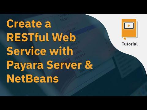 Create a RESTful Web Service with Payara Server & NetBeans