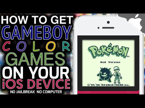 How To Get Gameboy & GBC Games on your iOS Device! (NO JAILBREAK) (NO COMPUTER) iPhone iPad iPod