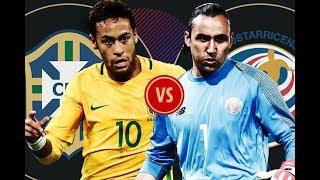 ⚽ Brazil 2-0 Costa Rica l Song tấu Neymar và Coutinho bóp nghẹt Costa Rica l BL sau trận đấu