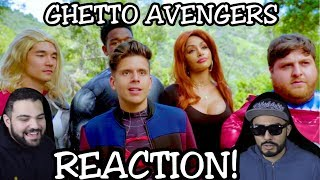 Ghetto Avengers | Rudy Mancuso, King Bach & Simon Rex | REACTION!