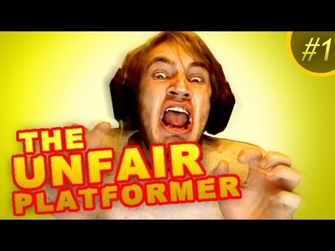 I'M NOT MAD! - The Unfair Platformer - Part 1