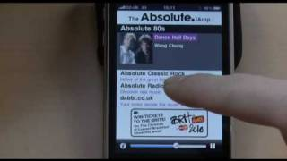 Absolute Classic Rock iAmp for Apple iPhone and iPod Touch