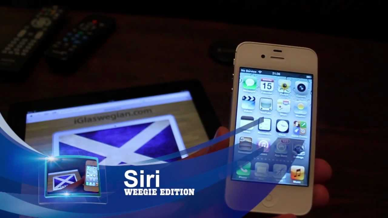 VIDEO) Scots Voice Recognition A Joke: Siri Doesn't