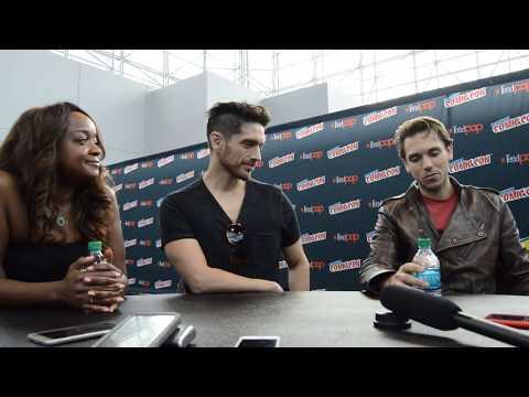 Voltron: Legendary Defender NYCC 17   with Kimberly Brooks, Josh Keaton, and AJ Locascio