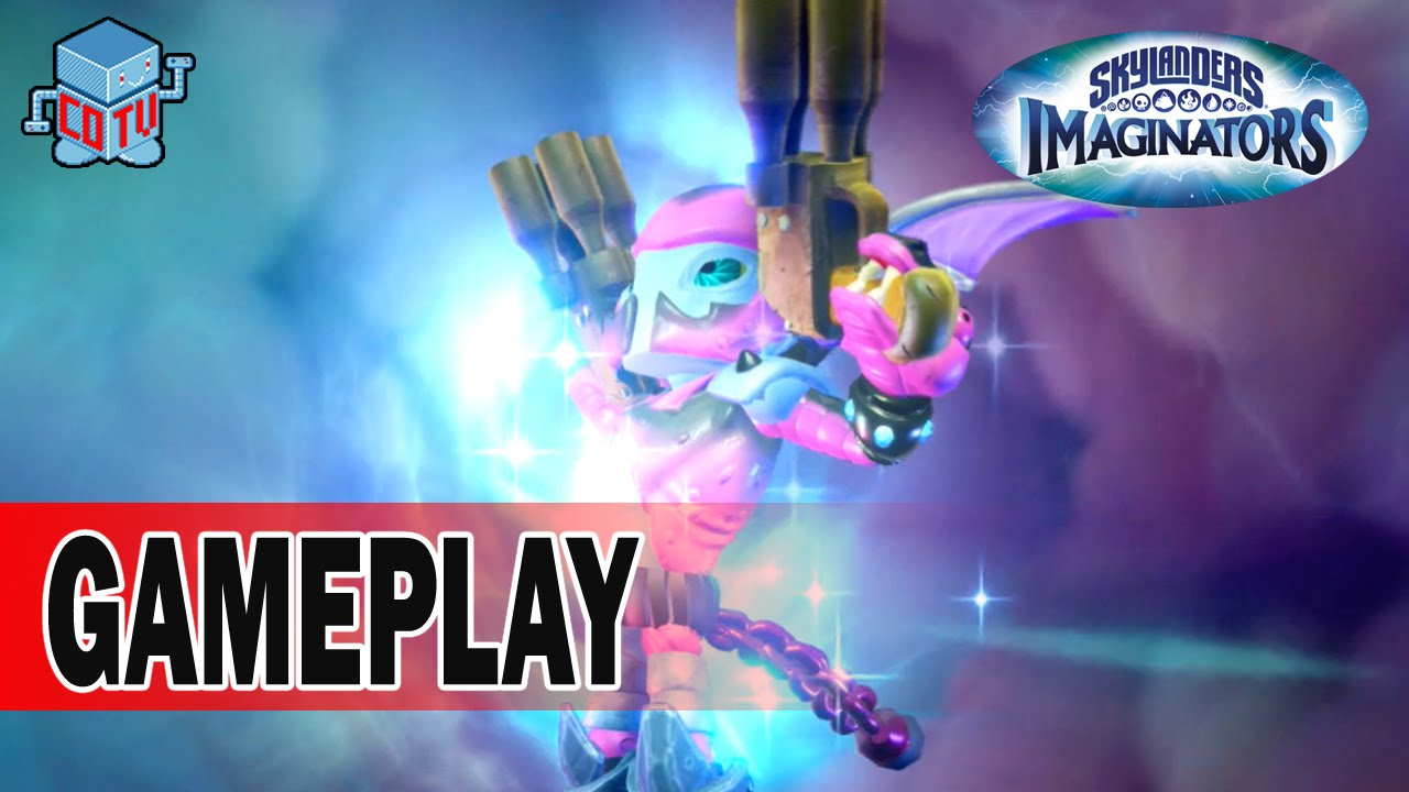 skylanders imaginators how to create a character