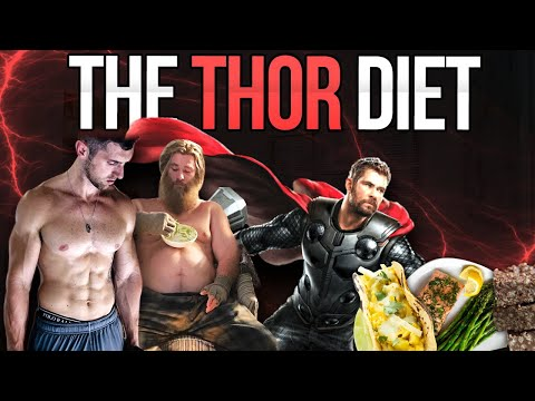 I tried Chris Hemsworth's Diet (THOR DIET) & Workout| Jacked Thor Vs. Fat Thor