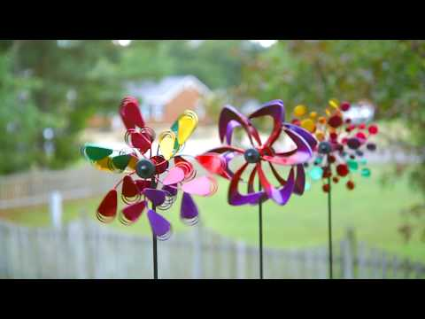Mountable Mini Kinetic Wind Spinners (P2867) from Evergreen Garden