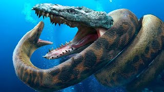 В Океане Нашли Животное в 100 Раз Страшнее Титанобоа