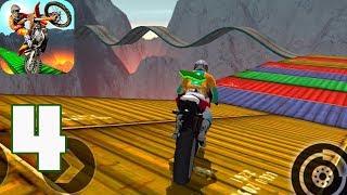 Impossible Motor Bike Tracks New Motor Bike Unlocked - Gameplay Walkthrough Part 4(iOS, Android)