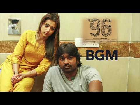 96 Songs BGM| Kaathalae Kaathalae Mobile Ring Tone | Vijay Sethupathi, Trisha | Govind Vasantha |