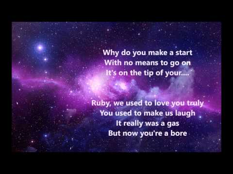 Ruby Blue - Sleeping At Last (Lyrics)