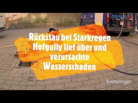 Rohrreinigung Berlin. Kempinger 2. Regenleitung Verstopft. Wurzeln In Der Leitung Und Rohrbruch