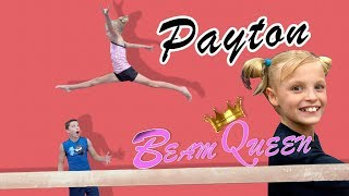 Payton goes to Beam Queen Boot Camp!