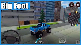 Drive For Speed Simulator Big Foot Android Gameplay Walkthrough