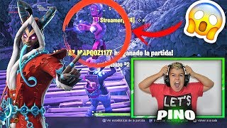 HACKER ME TUE ET CHARGE NOEL AU GRINCH À FORTNITE!!! SOLITAIRE PS4
