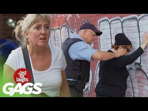 Granny Robs Bank & Sensual Photo Shoot - Throwback Thursday