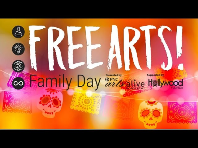 October Free Arts! Family Day Activity Tutorial