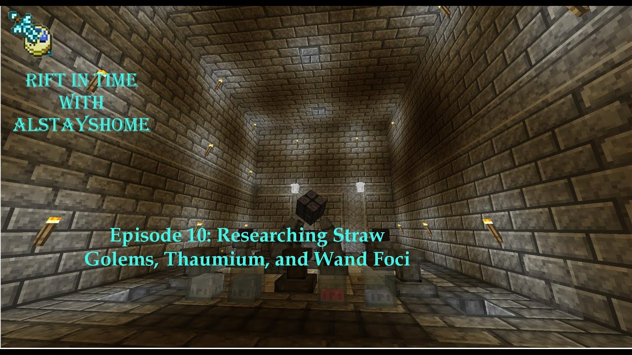 10 Researching Straw Golems And Thaumium Minecraft Thaumcraft 42
