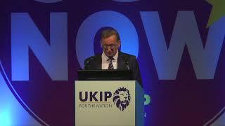 Ray Finch MEP at Torquay