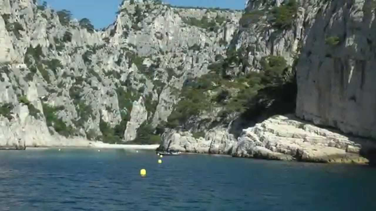Calanques Boat Trip From Cassis France Youtube